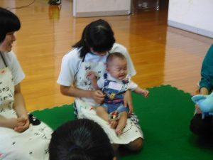 赤ちゃん体験1