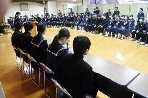 生徒会選挙立会演説会 選挙管理委員諸注意