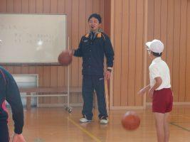 出前授業(体育) バスケットボール