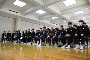 修学旅行沖縄学習発表会