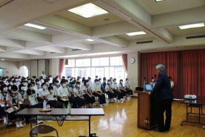 曽良先生の講演