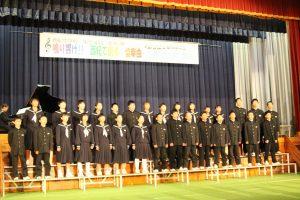 1年A組合唱