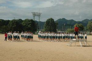 体育祭練習開始