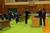 卒業式練習